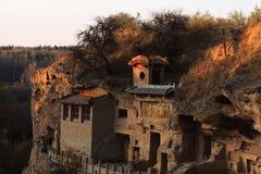 Valle de piedra rojo Fotos de archivo libres de regalías
