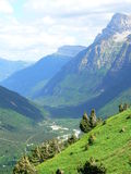 Valle de Pineta, Huesca ( Spain ). View of Pineta Valley ( National Park of Ordesa and Monte Perdido Stock Photos