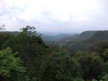 Valle de Quilombo en un día nublado Foto de archivo libre de regalías