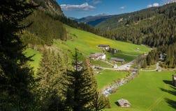 Valle de Racines en el Tyrol del sur, Italia Imagenes de archivo