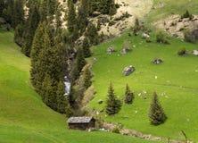 Valle de Racines en el Tyrol del sur, Italia Imagen de archivo libre de regalías