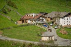 Valle de Racines en el Tyrol del sur, Italia Fotos de archivo libres de regalías