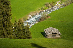 Valle de Racines en el Tyrol del sur, Italia Fotos de archivo