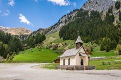 Valle de Racines en el Tyrol del sur, Italia Imágenes de archivo libres de regalías