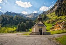 Valle de Racines en el Tyrol del sur, Italia Fotografía de archivo