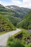 Valle de Rallarvegen Imagen de archivo