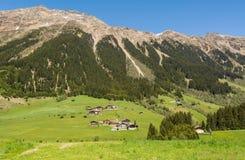 Valle de Ridanna, cerca del valle de Isarco en el Tyrol del sur, Trentino Alto Adige, Italia imagenes de archivo