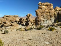 Valle de Rocas, Altiplano, Bolivia Stock Photo
