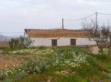 Valle De Santa Inez sur Fuerteventura en Espagne Image libre de droits