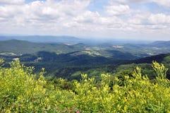 Valle de Shenandoah imagenes de archivo