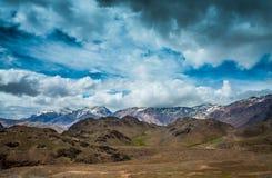 Valle de Spiti Foto de archivo libre de regalías