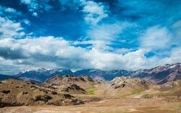 Valle de Spiti Imagen de archivo