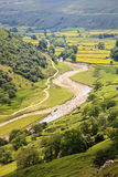 Valle de Swale del río Fotos de archivo