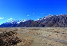 Valle de Tasman, Nueva Zelanda Fotos de archivo