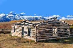 Valle de Teton en la caída Imagen de archivo libre de regalías
