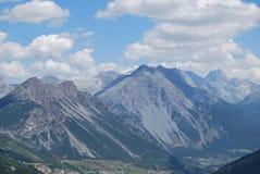 Valle de Valfurva Fotos de archivo libres de regalías