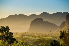 Valle de Vinales, Cuba imagenes de archivo
