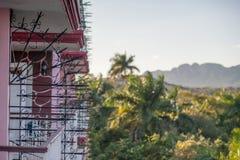 Valle de Vinales, paisaje de Cuba fotografía de archivo