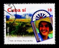 Valle DE Vinales, Toerisme serie, circa 2001 Royalty-vrije Stock Fotografie
