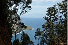 Valle 4 de Waipio Fotos de archivo libres de regalías