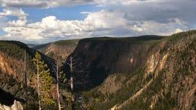 Valle de Yellowstone Fotos de archivo libres de regalías