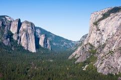 Valle de Yosemite imagenes de archivo