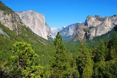 Valle de Yosemite Imagen de archivo libre de regalías