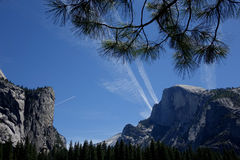 Valle de Yosemite - California Fotografía de archivo