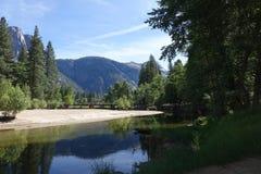 Valle de Yosemite - California Imagenes de archivo