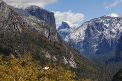 Valle de Yosemite - media bóveda III Imágenes de archivo libres de regalías