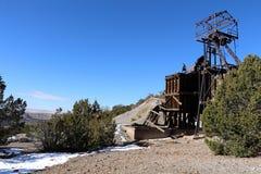 Valle debajo de Kelley Mine imagenes de archivo
