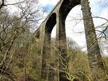 Valle debajo del viaducto Fotos de archivo