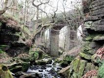 Valle debajo del viaducto Imágenes de archivo libres de regalías