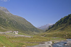 In the Valle Defereggen Stock Photo