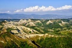 Valle dei Calanchi Royalty-vrije Stock Foto