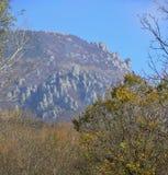 Valle dei fantasmi in Crimea Fotografia Stock
