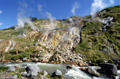 Valle dei geyser Fotografia Stock Libera da Diritti