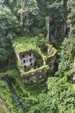 Valle dei Mulini, of Vallei van Molens De kust van Sorrento, Amalfi het royalty-vrije stock foto