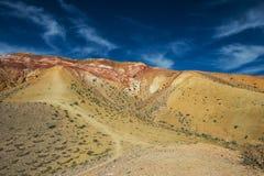 Valle dei paesaggi di Marte Immagini Stock