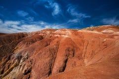 Valle dei paesaggi di Marte Immagine Stock