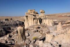 Valle dei sogni, New Mexico, U.S.A. Fotografia Stock
