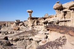 Valle dei sogni, New Mexico, U.S.A. Fotografia Stock Libera da Diritti