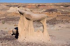Valle dei sogni, New Mexico, U.S.A. Fotografie Stock Libere da Diritti