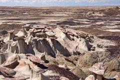 Valle dei sogni, New Mexico, U.S.A. Immagini Stock