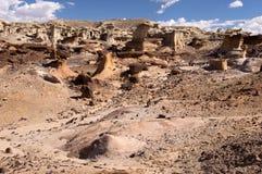 Valle dei sogni, New Mexico, U.S.A. Immagini Stock Libere da Diritti