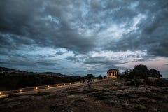 Valle dei Templi Zdjęcia Royalty Free
