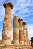 Valle Dei Templi, Agrigento Zdjęcia Stock