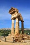 Valle dei Templi, Agrigento, Sicily Obraz Stock