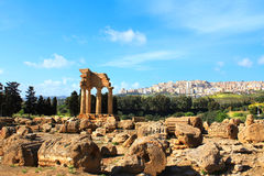 Valle dei Templi, Agrigento, Sicily Zdjęcie Stock