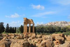 Valle dei Templi, Agrigento, Sicily Zdjęcia Stock